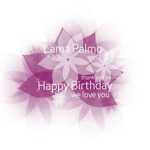 Geburtstagslied Für Lama  Palmo 2014