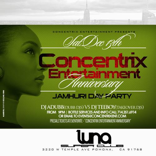 Concentrix Anniversary DJTeeboy by Conce Ntrix | Free