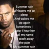 SUMMER RAIN -by Carl Thomas (REMIX) by Edwells