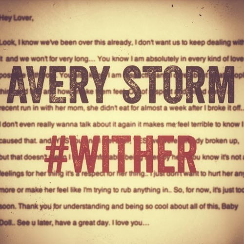 Avery Storm – #WitHer @AveryStorm