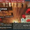Stabat Mater, from An Australian War Requiem, by Christopher Bowen