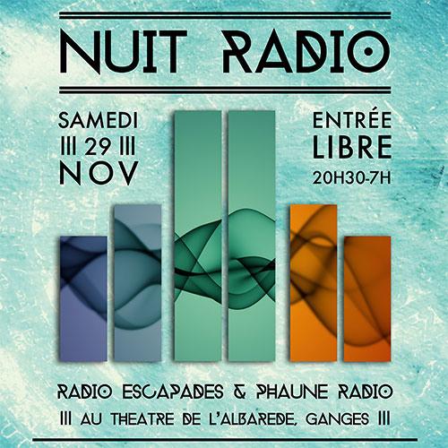 Nuit Radio Au Théâtre De L'Albarède