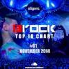 BROCK TOP TEN CHART #001 NOVEMBER 2014