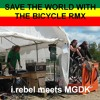 I.rebel Meets MGDK - Save The World With The Bicycle RMX by i.rebel