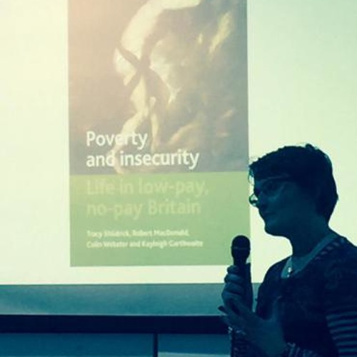 Tracy Shildick's presentation at the event 'Does Poverty Porn Undermine the Welfare State?'