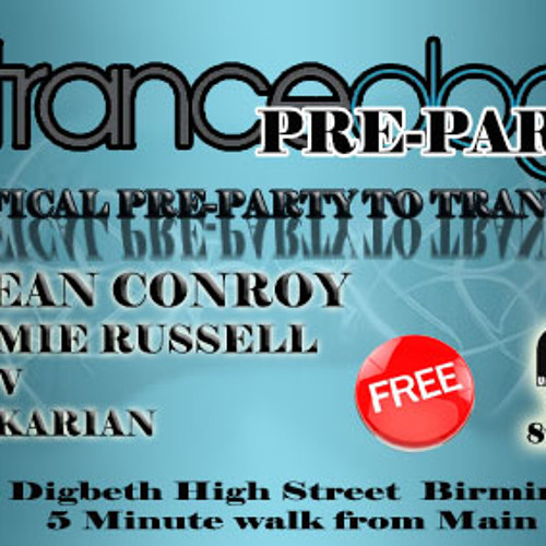 Dean Conroy @ Tranceology - Birmingham (UK Trance Debut)
