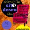 Stand-Up Sit Down #1 (Guests: Dan Boulger, Dana Cairns & Kofi Thomas)