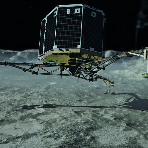 Touchdown Philae on Comet 67P
