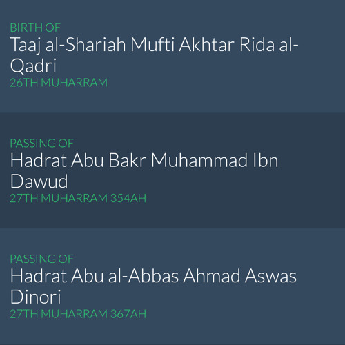 Allamah Shah Turab al Haq Qadiri's Message About The Blessed Days App