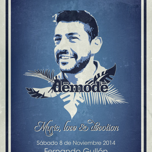 Demode Club Madrid - Fernando Gullón Nov 2014 Tech-House