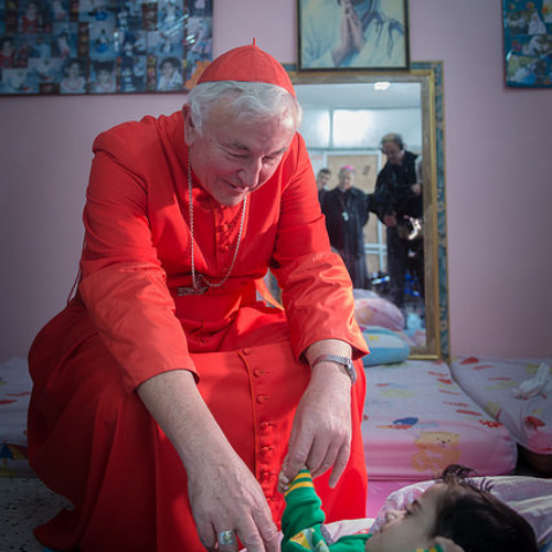 """Cardinal Nichols """"deeply shocked"""" on first visit to Gaza"""