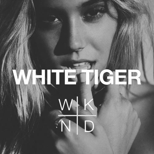 Izzy Bizu x SAINT WKND - White Tiger