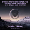 Stress Factor Podcast Episode 178 Optimal Prime Guest Mix Mp3