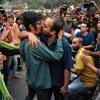 Di India, Anak Muda Berdemo dengan Ciuman di Tempat Umum