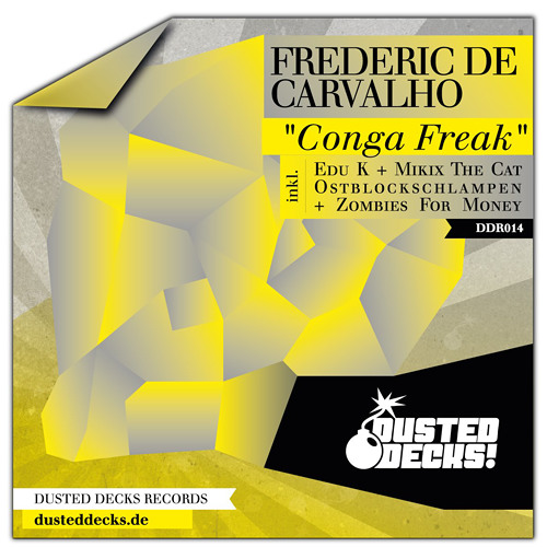 Frederic De Carvalho - Caracol [Dusted Decks] /// incl. remixes by Edu K, Zombies For Money...
