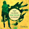 Mendo & Yvan Genkins - What You Say (Jay Lumen What U Hear Remix) Low Quality Preview