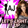 WWE - AJ Lee Theme Song - Let's Light It Up