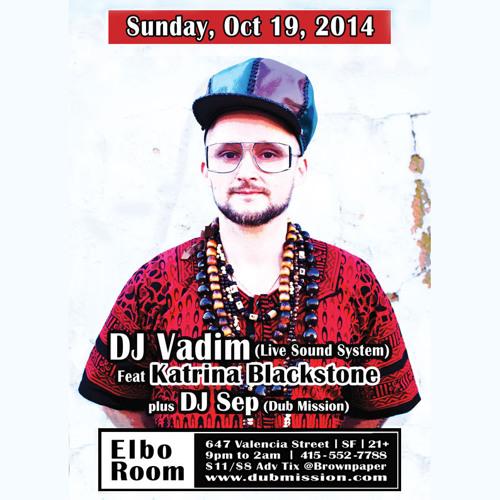 DJ Vadim LIVE at Dub Mission [FREE DOWNLOAD]