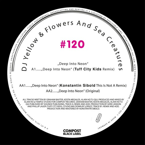 "DJ Yellow & Flowers and Sea Creatures ""Deep Into Neon"" Compost Records"