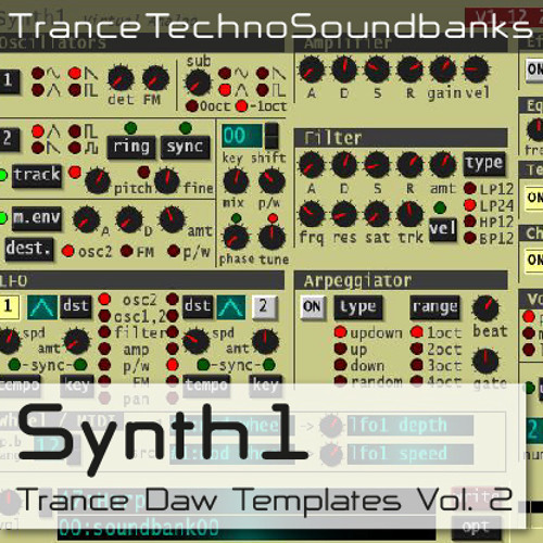 Freeware TTS Synth 1 Trance Templates Vol.2 + TUTORIAL LINK