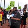 Chanting at the Baltimore's People's Power Assembly protest of Ferguson