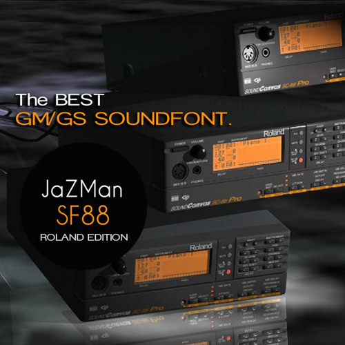 JaZMan SF88 GM-GS SoundFont by Digital Audio Samples And