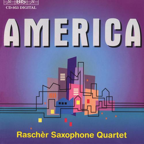 Raschèr Saxophone Quartet - America