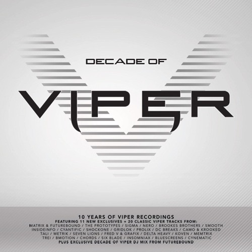 Futurebound and Gridlok - Go Free - Decade of Viper LP