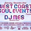 DJ Mes Live @ King King (West Coast Soul) 11.22.14