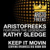 Free Download ARISTOFREEKS FT. KATHY SLEDGE - KEEP IT MOVIN SERVING OVAHNESS BIG ROOM DUB Mp3