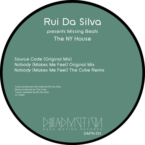 Dead Motion 013 - Rui Da Silva - The NY House EP