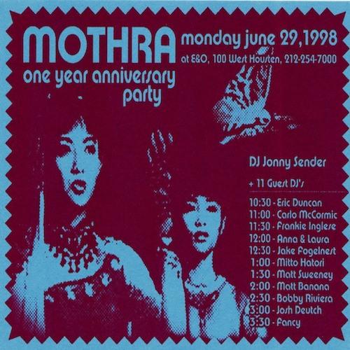 Jonny Sender - Mothra