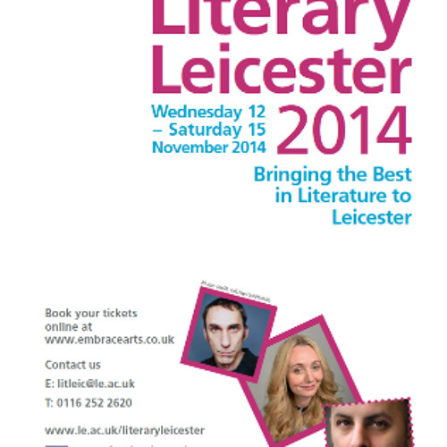 Centre for New Writing: Literary Leicester Fringe 2014