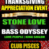 Download Stone love, Bass Odyssey Squingy Tribute Thanksgiving  Nov 29 2014 Atlanta Ga. Mp3