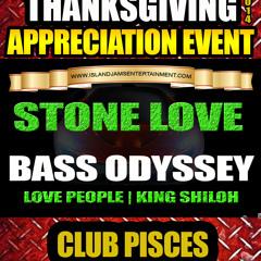 Stone love, Bass Odyssey Squingy Tribute Thanksgiving  Nov 29 2014 Atlanta Ga.