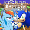 Sonic the Hedgehog vs Rainbow Dash. Epic Rap Battles of Cartoons 41.