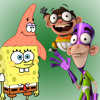 Spongebob and Patrick vs Fanboy and Chum Chum. CartoonMadeRapBattles Season 2.