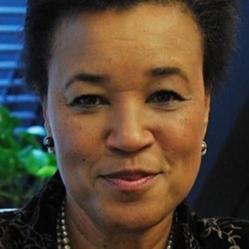 Baroness Patricia Scotland with Julian Rogers