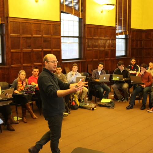 EPIIC Class Dec. 4, 2014: Gregory Carleton: War Narratives