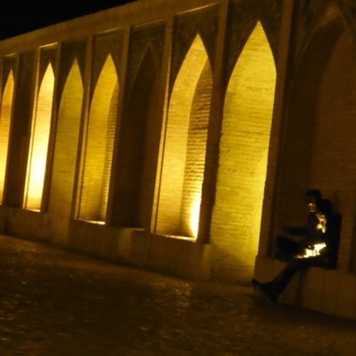 Iranian songs - Under the arches of Khajou bridge