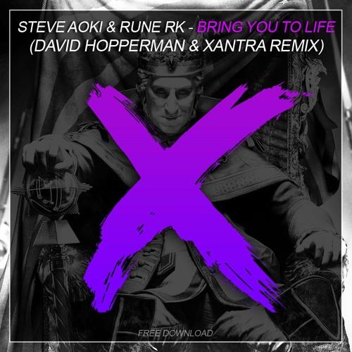 Steve Aoki & Rune RK - Bring You To Life - David Hopperman & Xantra Remix  ***free download***