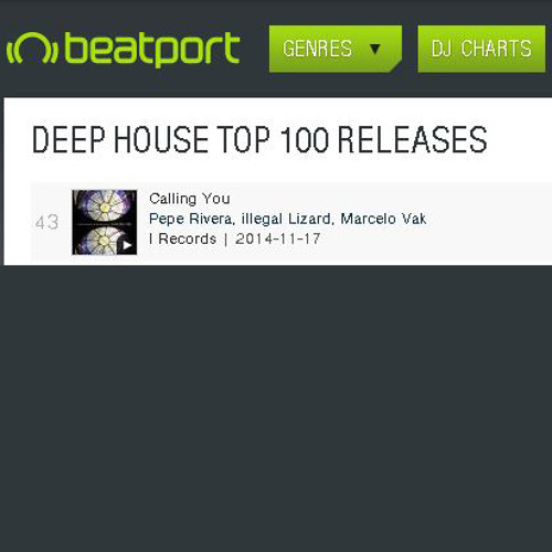 Pepe Rivera, Illegal Lizard - Calling You (Marcelo Vak Remix) [I Records] *** OUT NOW!