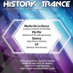 Phi-Phi @ History Of Trance - Balmoral (BE) 10-10-2014