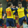 Listen to Ramsey score THAT goal from #GALvAFC