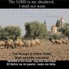 The Lord Is My Shepherd In A By Kaspars Ezerins ( Tuvāk Tev)