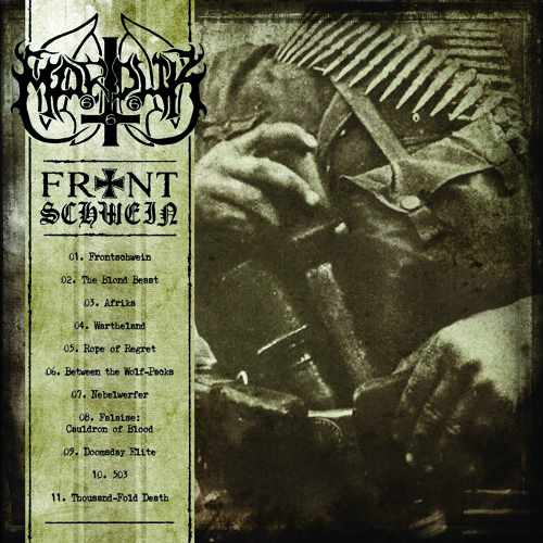 "Marduk: another one track from the upcoming album ""Frontschwein"""