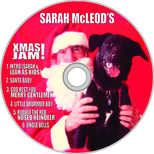 SARAH MCLEOD'S X MAS JAM!  6 Track Sample