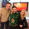 Andrea Faustini reunited with Emma Bunton on Heart Breakfast