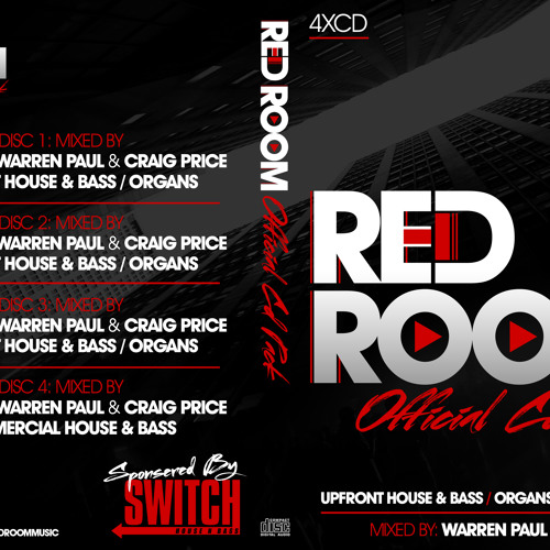 Red Room Official Cd Pack Sampler By Official Red Room