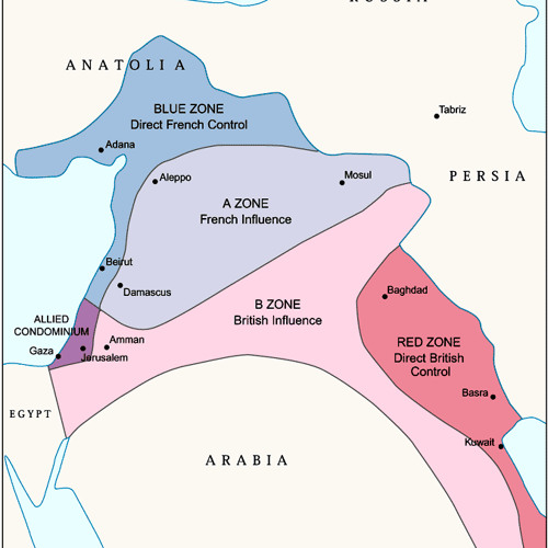 The Sykes-Picot Agreement, ISIS and the modern Middle East